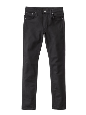 Nudie Lean Dean Jeans - Ever Black