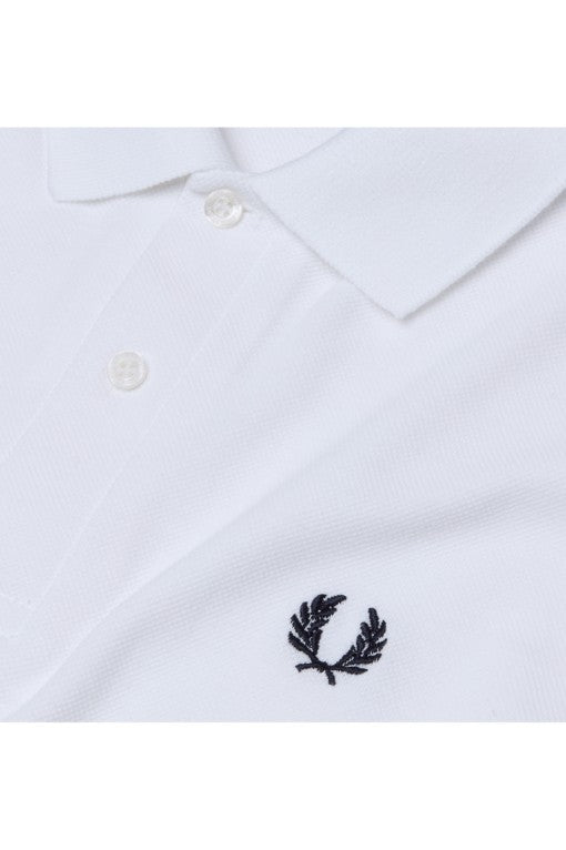 Fred Perry Reissues M3 Fred Perry Polo Shirt - White/Navy
