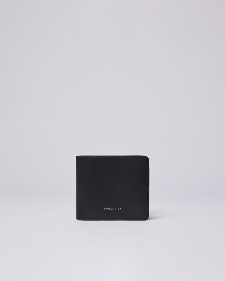 Sandqvist Manfred Wallet - Black