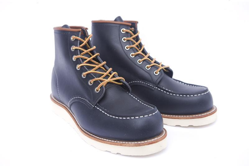 "Redwing 6"" Classic Mock Toe 08859 Boot - Navy"