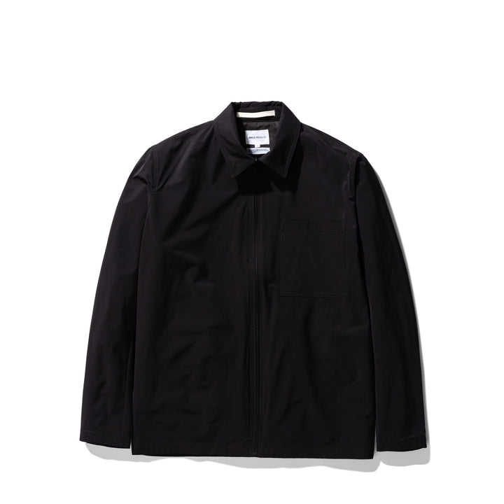 Norse Projects Jens Zip Packable Jacket - Black