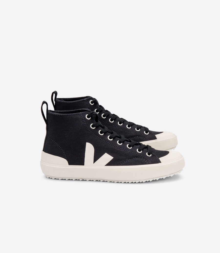 Veja Nova High Top Trainer - Canvas Black Pierre