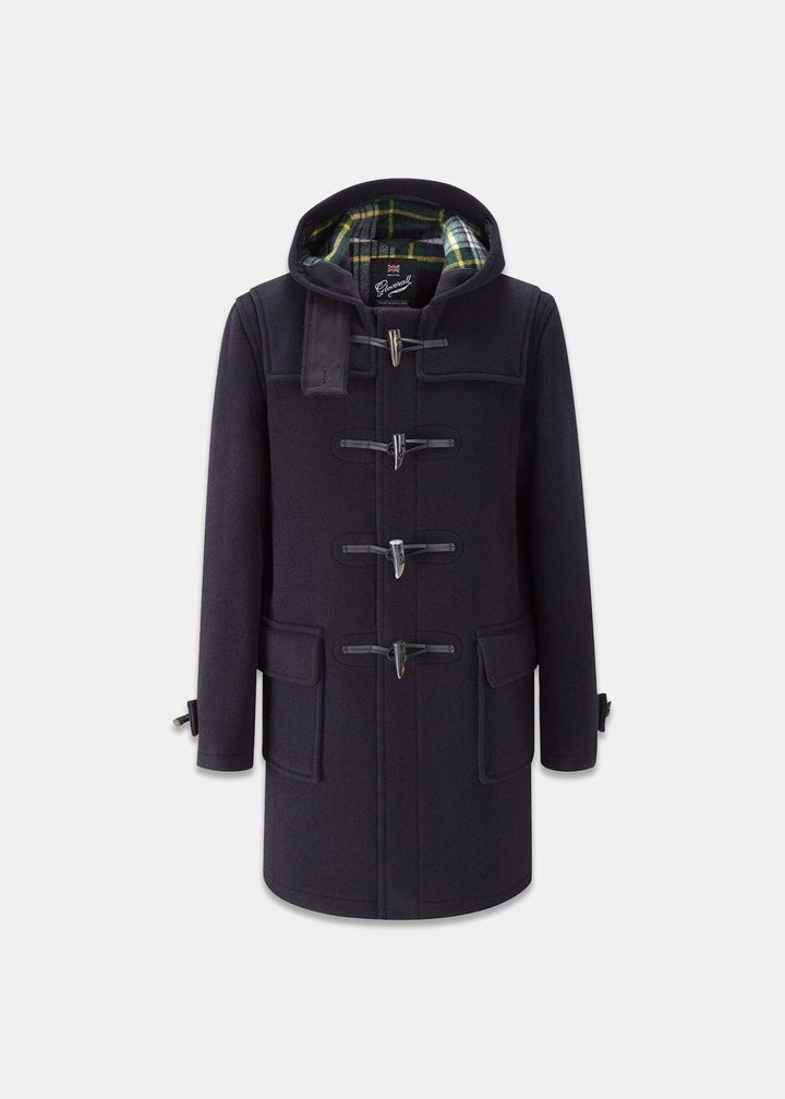 Gloverall Morris Duffle Coat - Navy Dress Gordon
