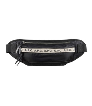A.P.C. Repeat Bum Bag - Black