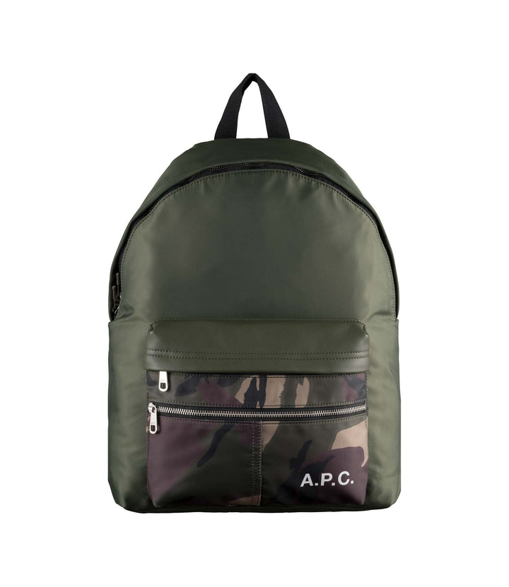 A.P.C. Camden Backpack - Kaki Militaire