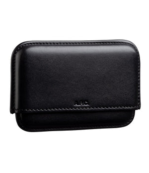 A.P.C. Magna Carta Card Holder - Black