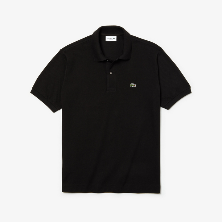 Lacoste Marl L.12.12 Polo Shirt - Black