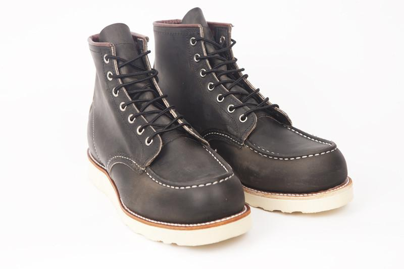 "Red Wing 6"" Moc Toe Boot 8890 - Charcoal"