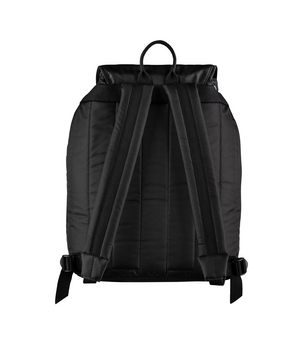 A.P.C. Repeat Logo Clip Backpack - Black