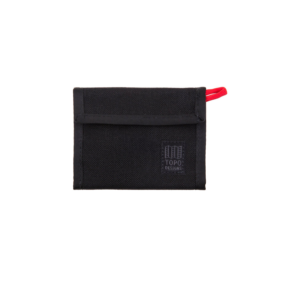 Topo Designs Velcro Wallet - Black