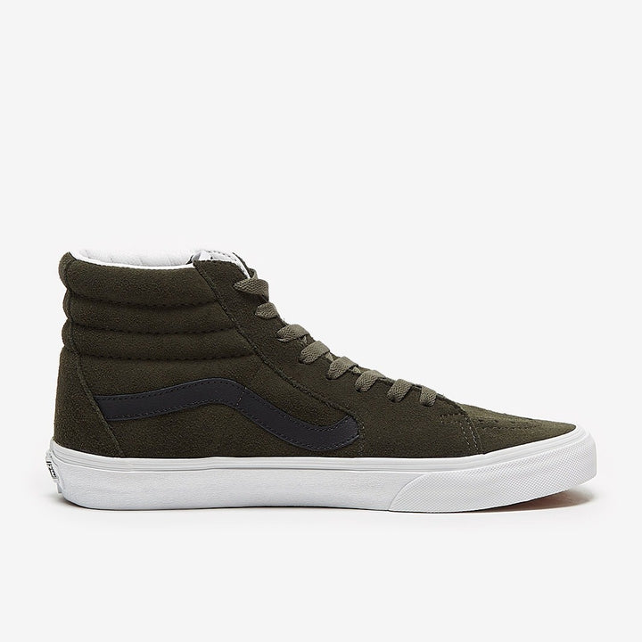 Vans SK8-Hi Suede Shoe - Forest Night/True White