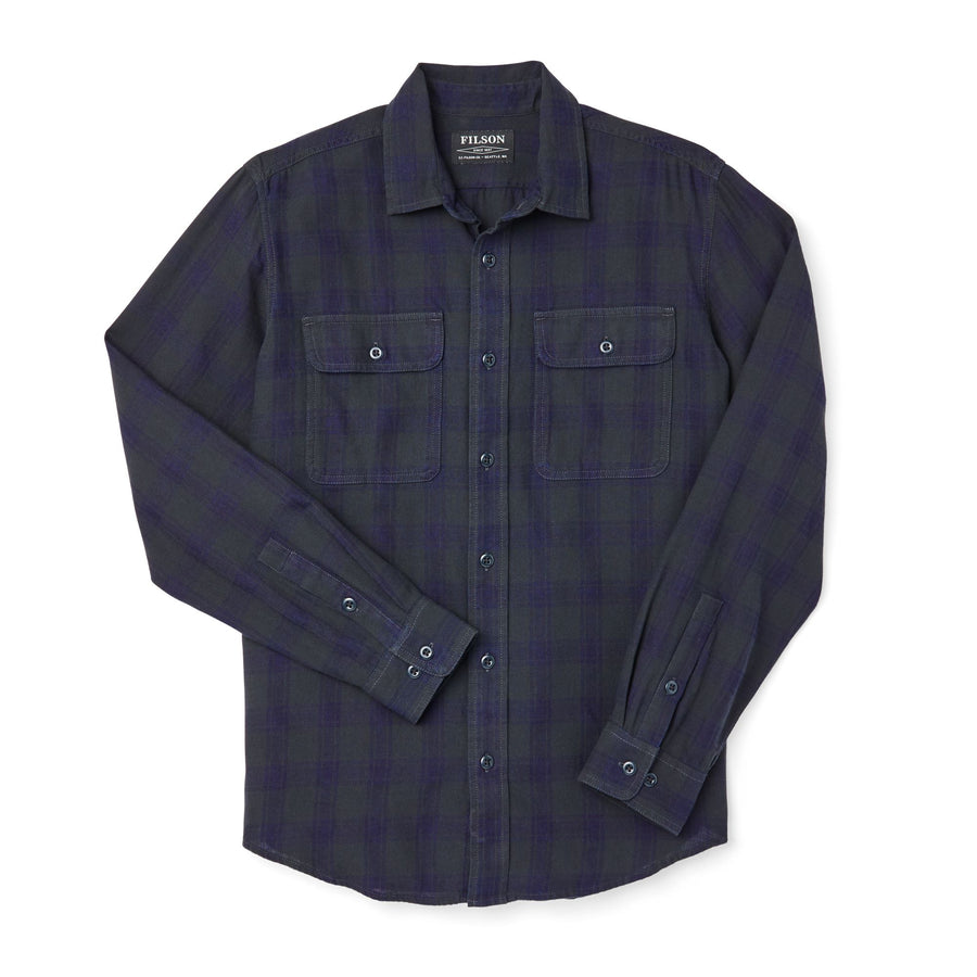 Filson Scout Shirt - Black/Indigo Plaid