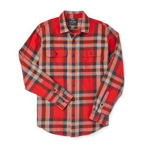 Filson Scout Shirt - Red/Black/Flame Plaid