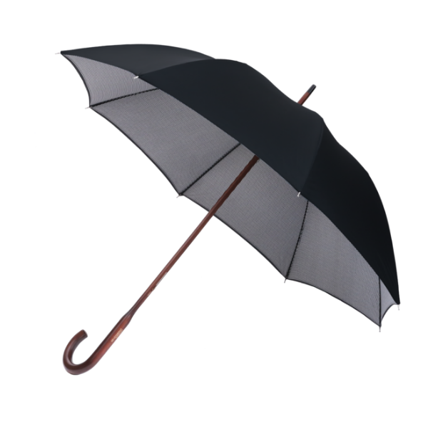 London Undercover Umbrella - Black/Houndstooth Classic