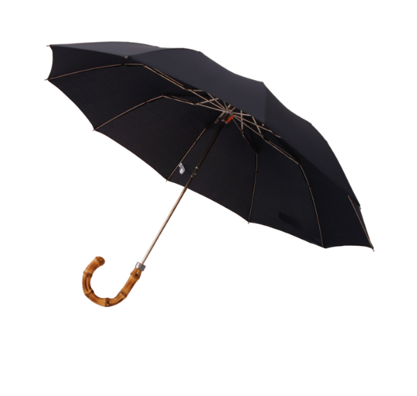 London Undercover Umbrella - Navy Whangee Telescopic