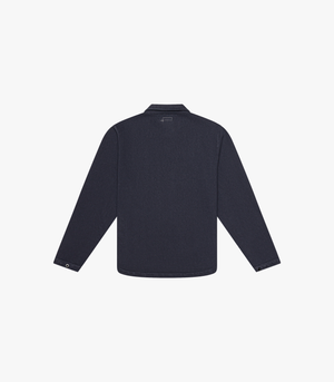 Knickerbocker Compact Zip Quarter Shirt - Navy