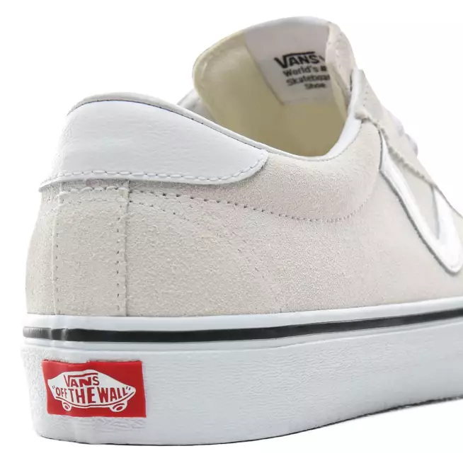 Vans Suede Sport Shoes - White