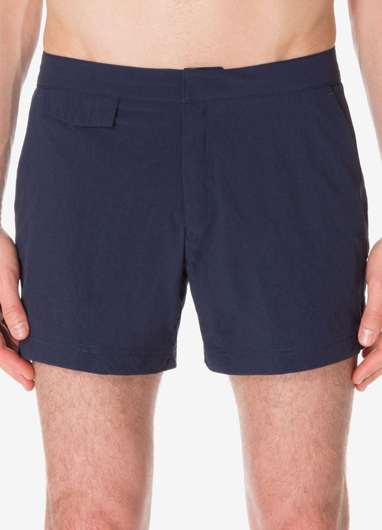 Sunspel Technical Nylon Tailored Swimshorts - Navy
