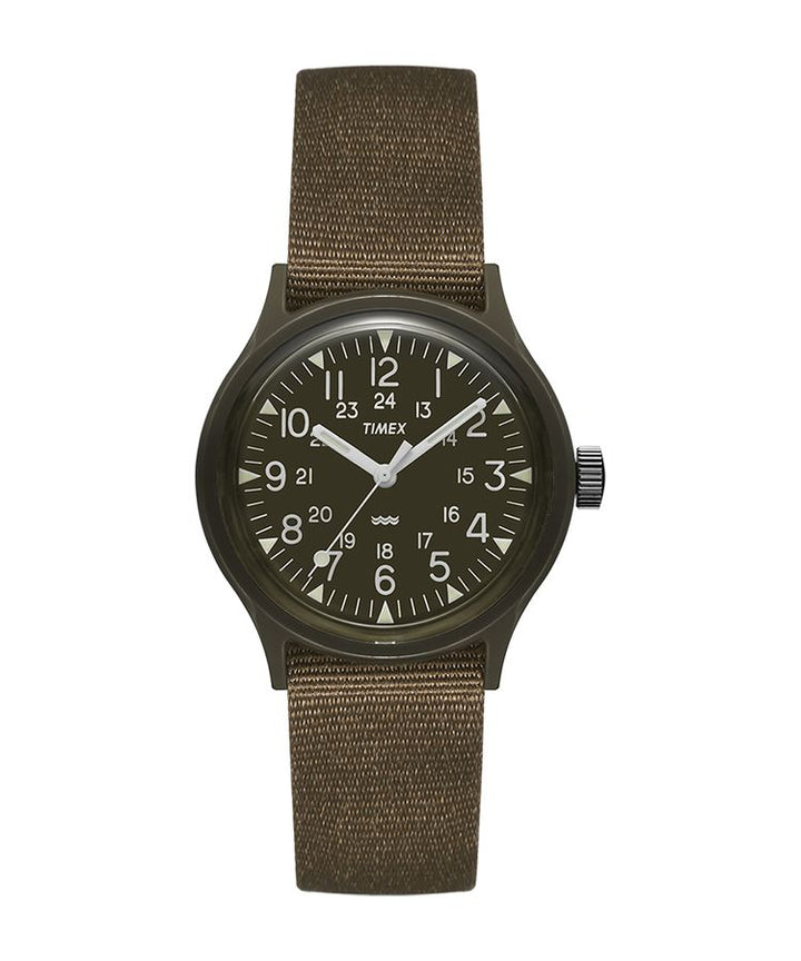 Timex Japanese Archive Camper Watch - Black Dial