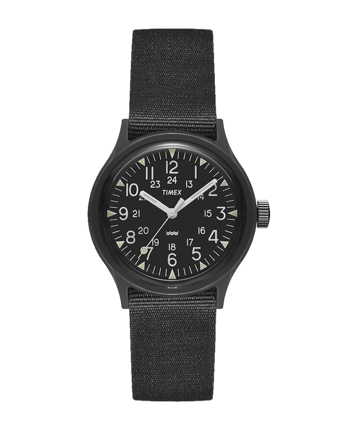 Timex Archive Camper MK1 Watch - Black/Black Dial