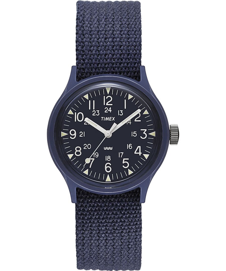 Timex Archive MK1 Resin 36 Watch - Blue Case/Blue Dial