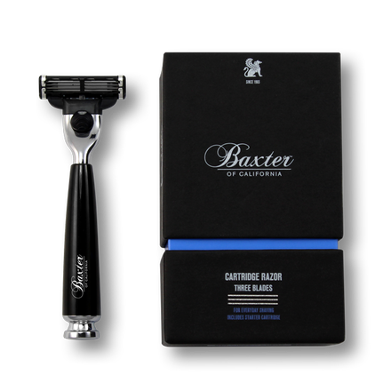 Baxter of California Cartridge Razor - Three Blade