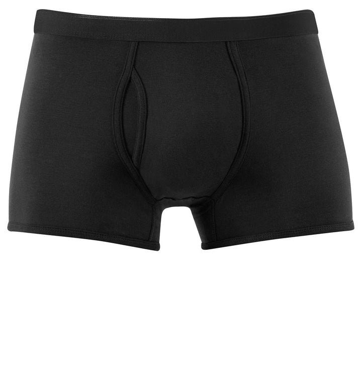 Sunspel Q82 Low Waist Trunk Black