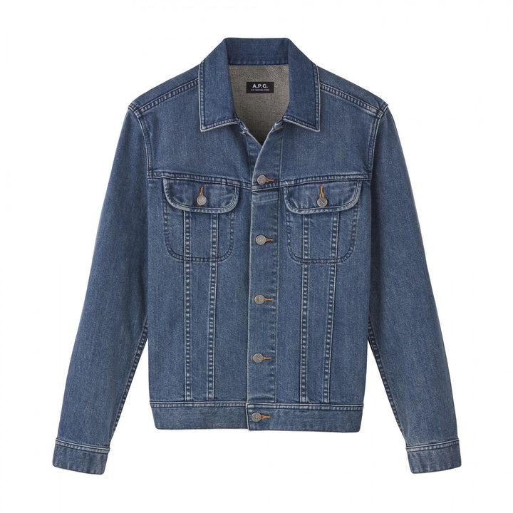 A.P.C. Men US Denim Jacket - Indigo