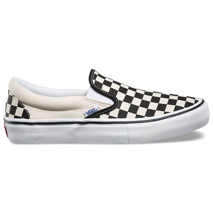 Vans Classic Slip On Shoe - Black/White Checkerboard
