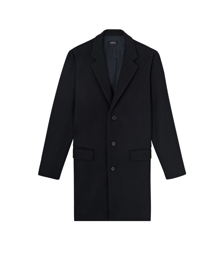 A.P.C. Visconti Coat - Black
