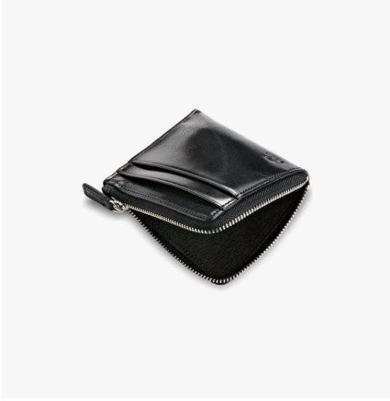Il Bussetto Zip Wallet - Black