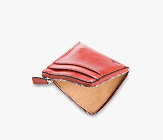 Il Bussetto Zip Wallet - Orange