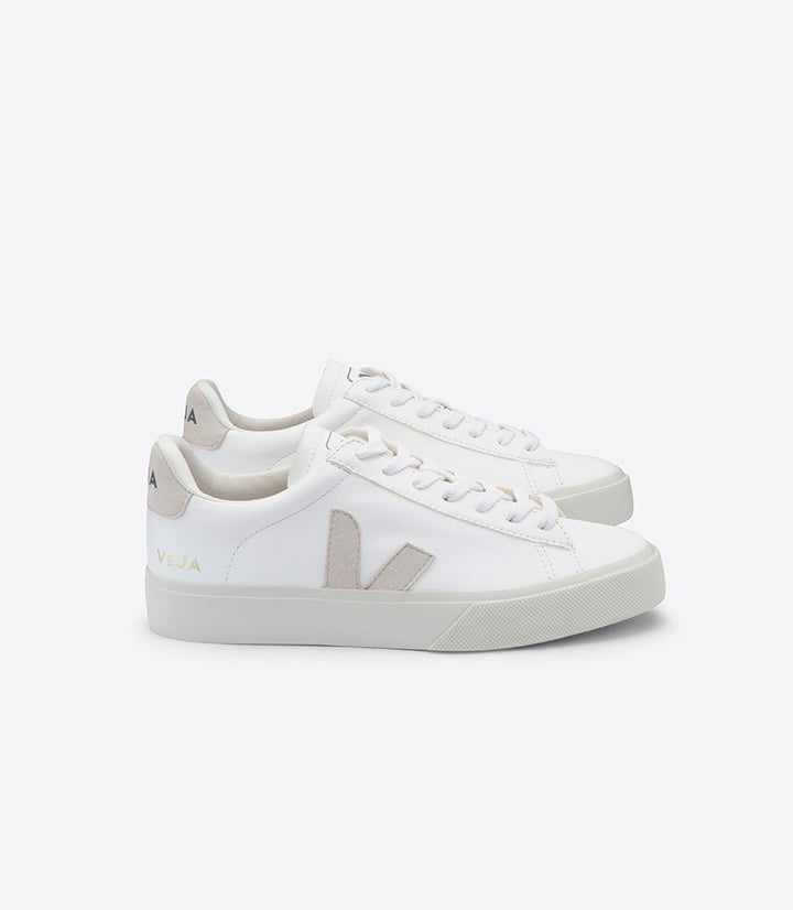 Veja Campo Trainers - White/Natural Chromefree Leather