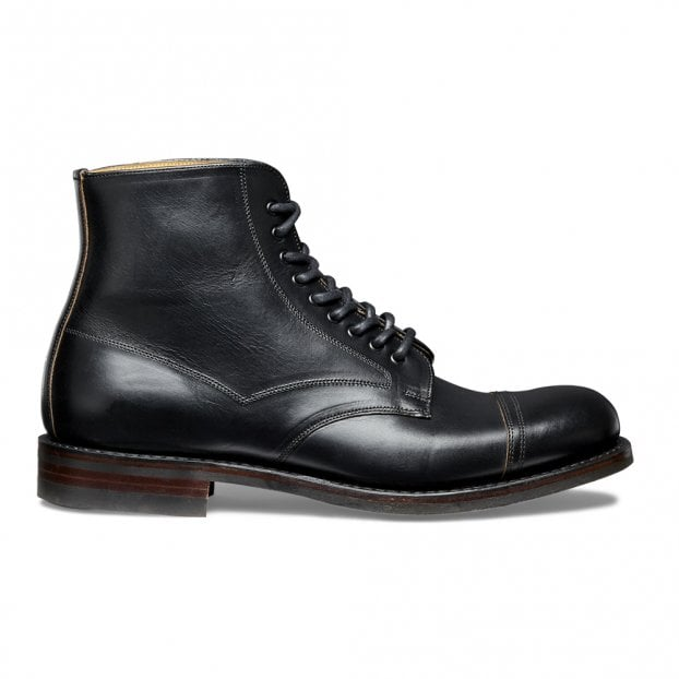 Joseph Cheaney & Sons Jarrow R Country Derby Boot - Black Chromexcel Leather