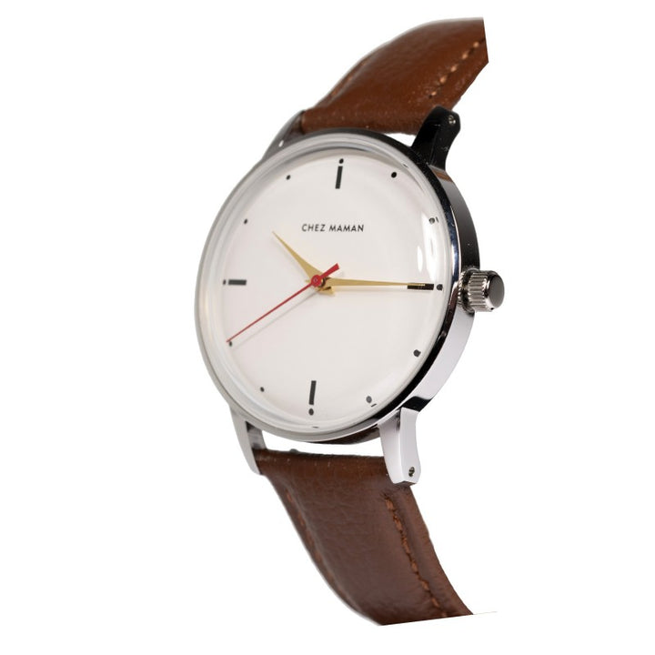 Chez Maman Watch - La Goa White Black