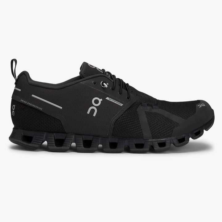 On Cloud Waterproof Trainers - Black/Lunar
