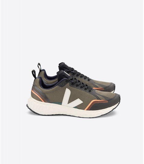 Veja Condor Running Trainers - Khaki/Natural
