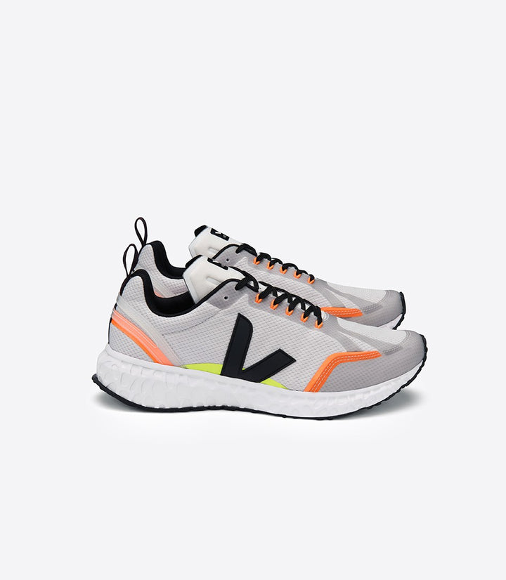 Veja Condor Running Trainers - Light Grey/Black