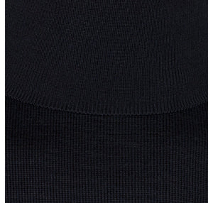 John Smedley Connell Roll Neck Pullover - Midnight