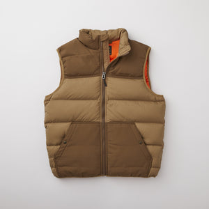 Filson Featherweight Down Vest - Dark Tan