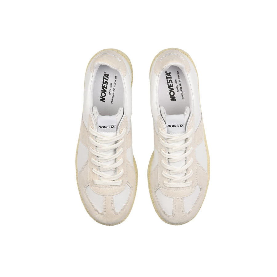 Novesta German Army Trainer - White/Ecru