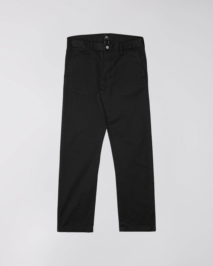 Edwin 39 Chino - Black Garment Dyed