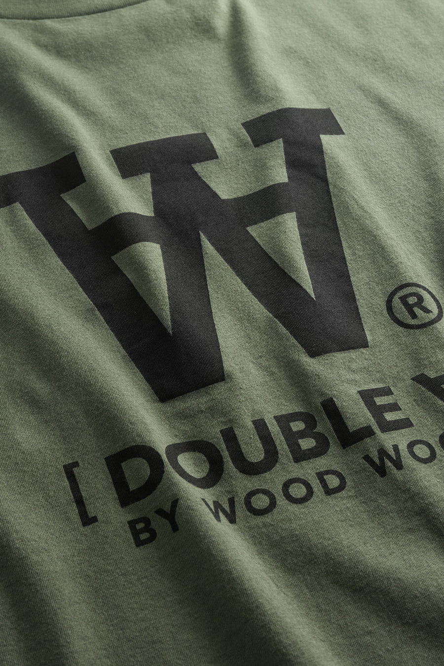 WoodWood Ace T-Shirt - Army Green