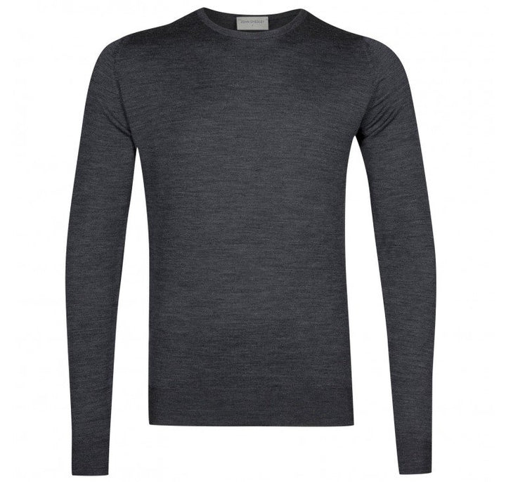 John Smedley Lundy Pullover - Charcoal