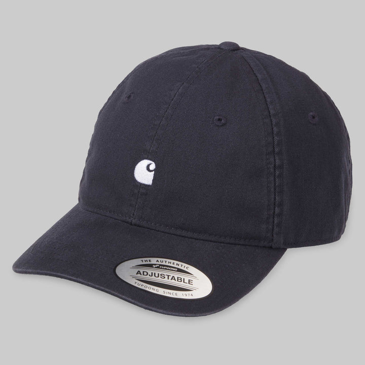 Carhartt Madison Logo Cap - Dark Navy/Wax