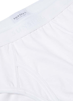 Sunspel Superfine Brief - White