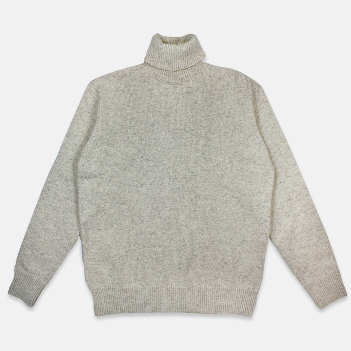 Universal Works Roll Neck Sweater - Natural