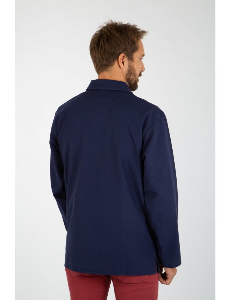 Armor-Lux Fisherman Smock - Navy Blue