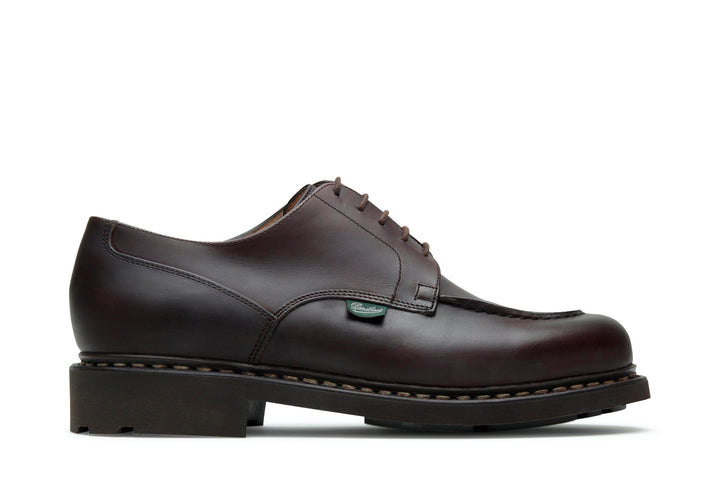 Paraboot Chambord Shoe - Tex Marron-Lis Cafe