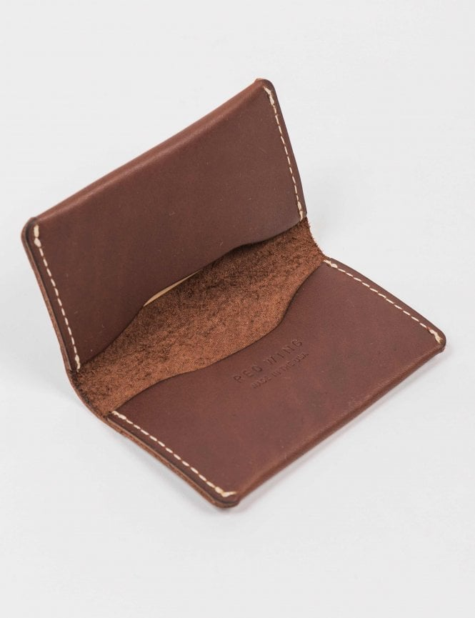 Red Wing Card Holder Wallet - Amber Frontier